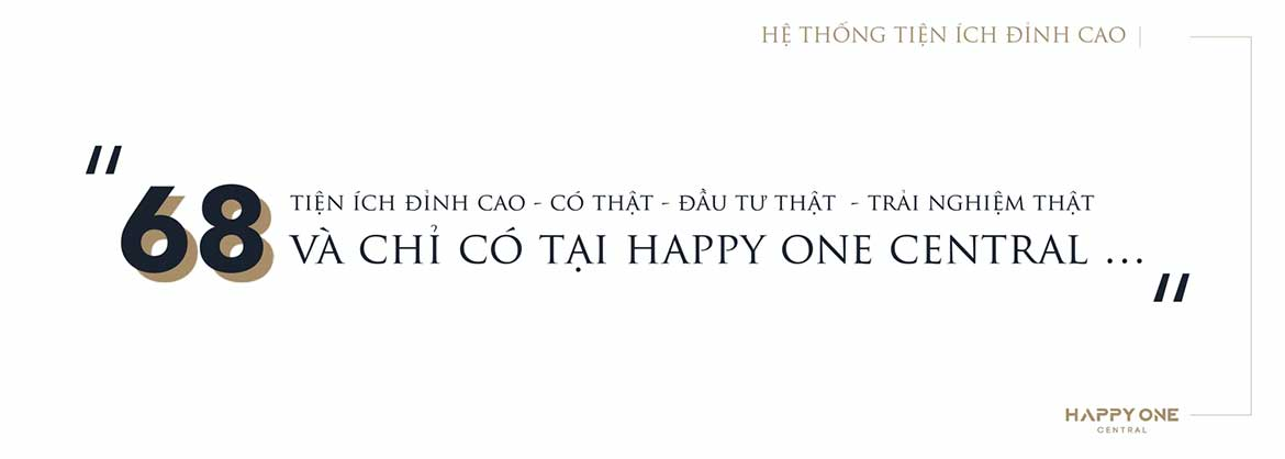 tien ich dinh cao tai happy one central binh duong